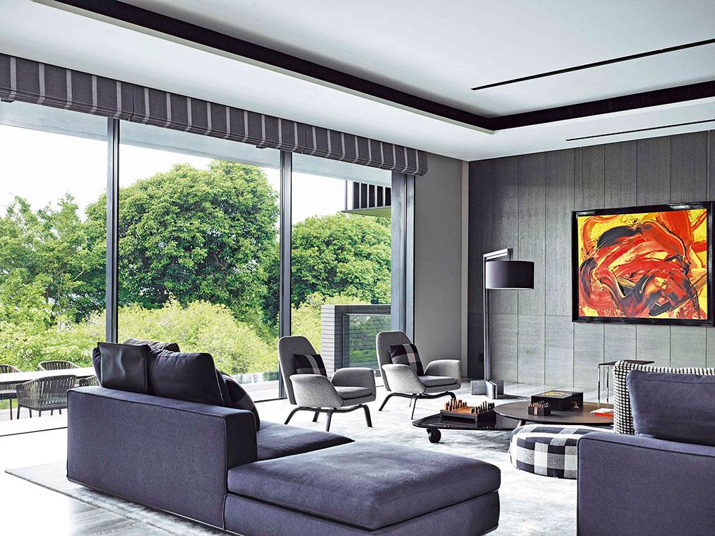 Arquitectura singular salón