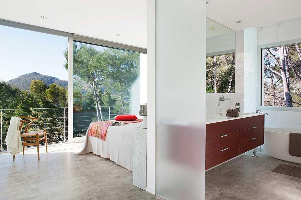 Proyecto Miguel Angel Lacomba. Dormitorio.