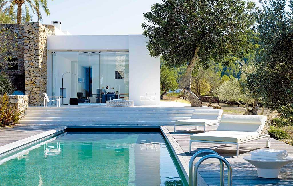 Casa estilo ibicenco